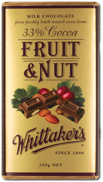 Whittakers Fruit and Nut