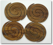 Rimu Coasters set of 4