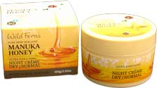 Manuka Honey Night Creme Normal