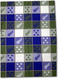 Kiwi and Fern Tea Towel