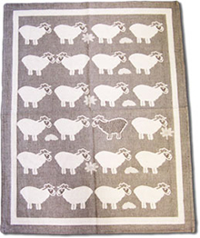 Brown Sheep Tea Towel