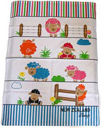 NZ Sheep Tea Towel